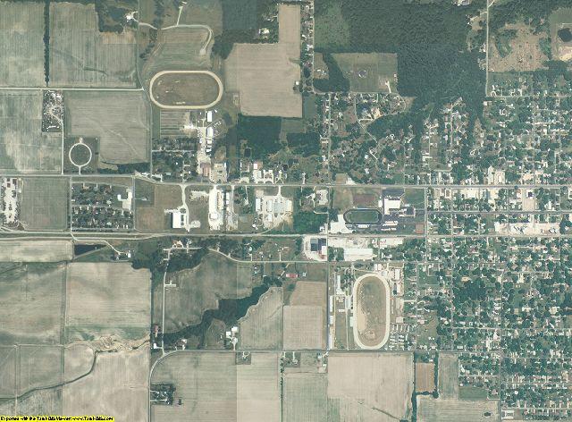 Jasper County, Illinois aerial photography