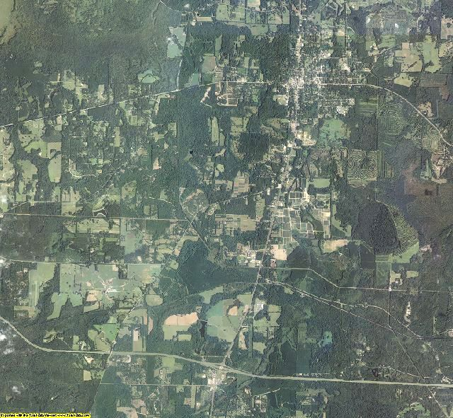 Jefferson County, Florida aerial photography