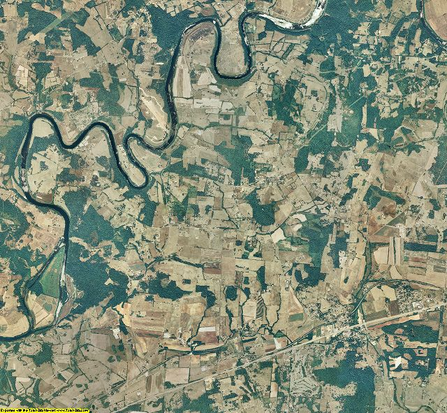 Jefferson County, Tennessee aerial photography