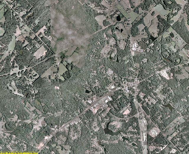 Jones County, Georgia aerial photography