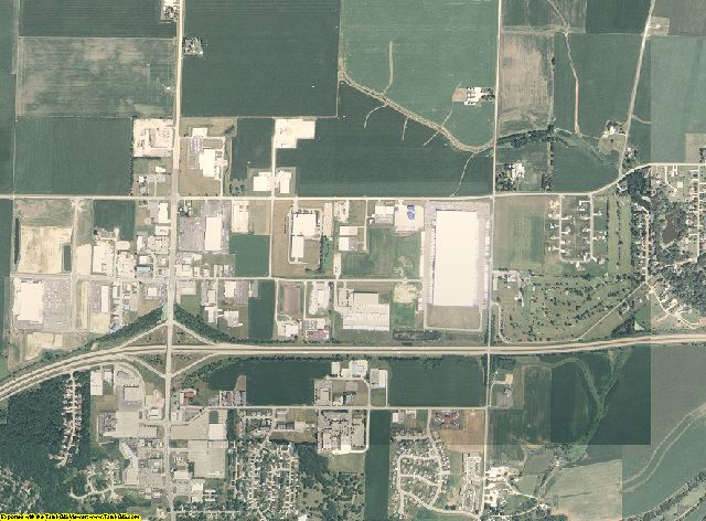 La Salle County, Illinois aerial photography