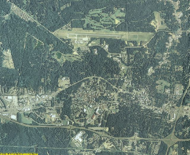 Lafayette County, Mississippi aerial photography