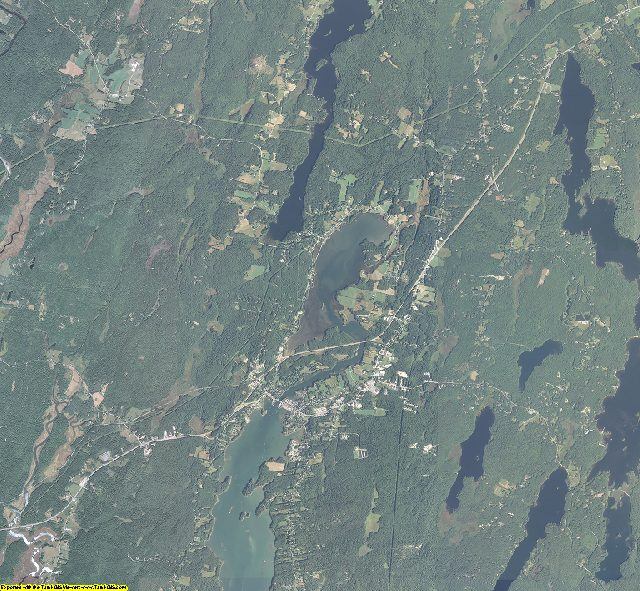 Lincoln County, Maine aerial photography