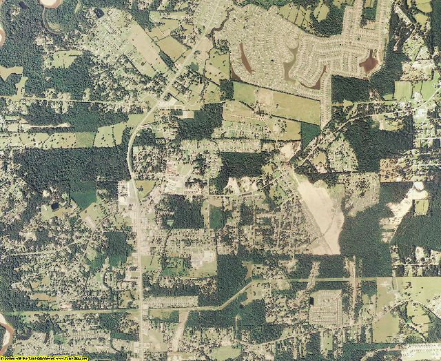 Livingston County, Louisiana aerial photography