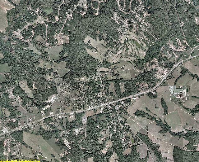 Madison County, Georgia aerial photography