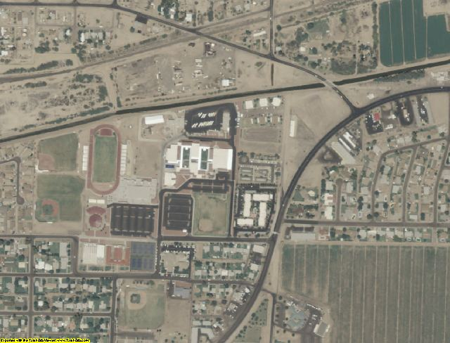 Maricopa County, AZ aerial photography detail