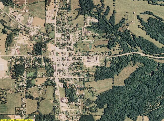 Maries County, Missouri aerial photography