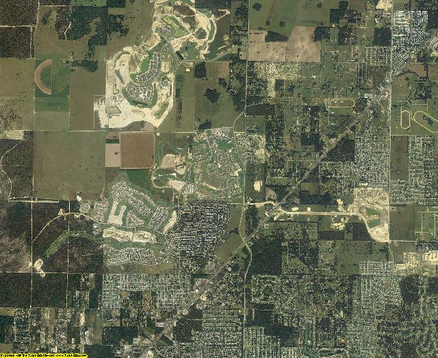 Marion County, Florida aerial photography
