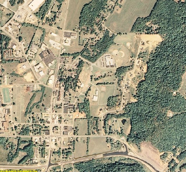 Meigs County, TN aerial photography detail