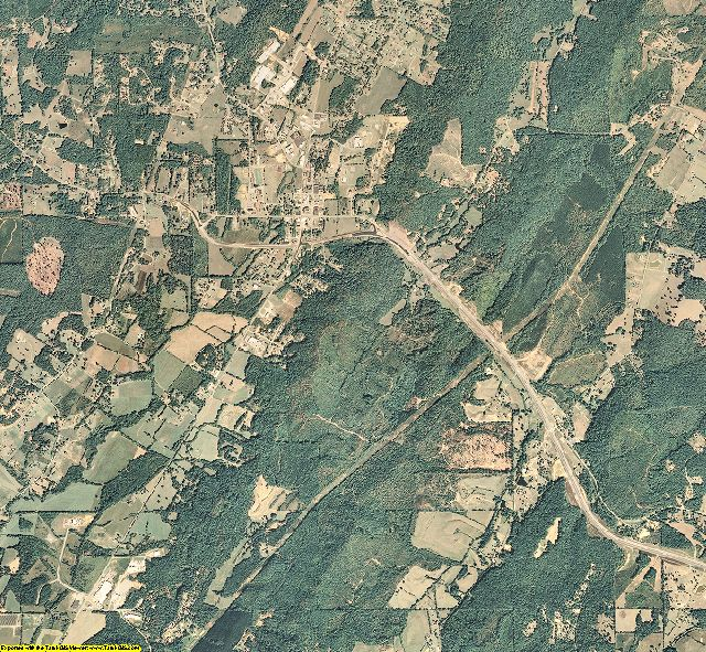 Meigs County, Tennessee aerial photography