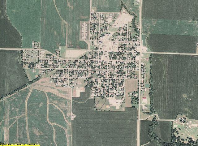 Menard County, Illinois aerial photography