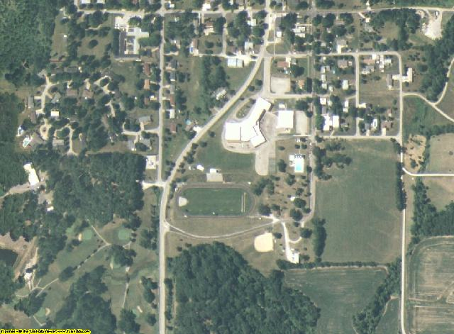 Mercer County, IL aerial photography detail