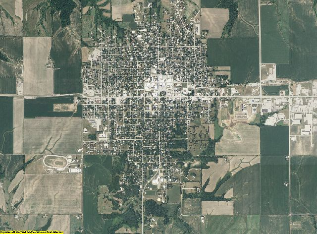 Mercer County, Illinois aerial photography