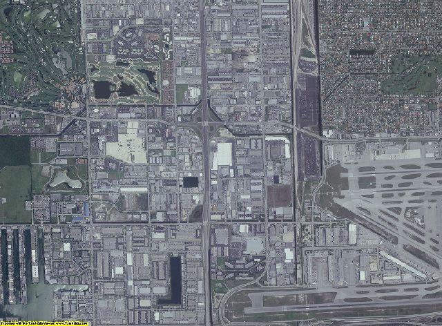 Miami-Dade County, Florida aerial photography