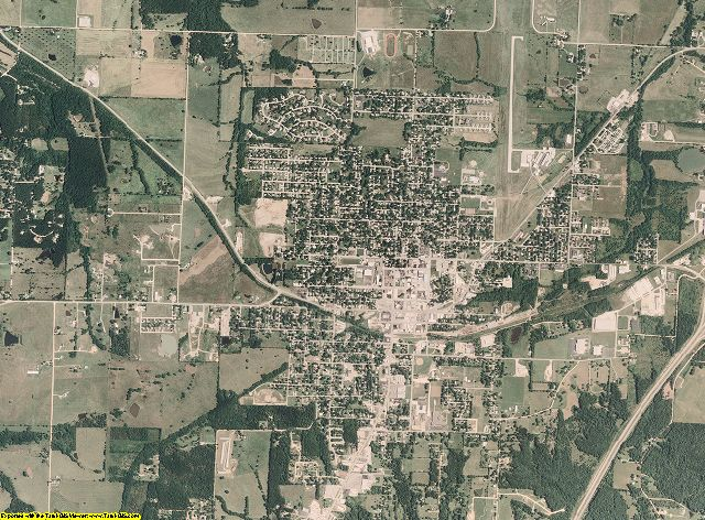 Miller County, Missouri aerial photography