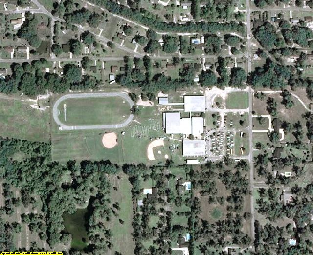 Mitchell County, GA aerial photography detail