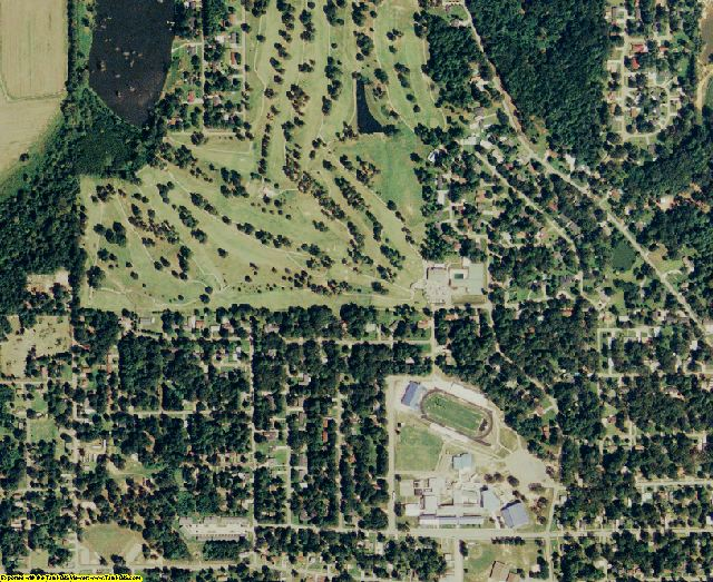 Morehouse County, LA aerial photography detail