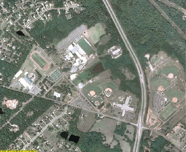 Morgan County, GA aerial photography detail