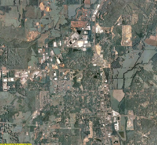 Murray County, Georgia aerial photography