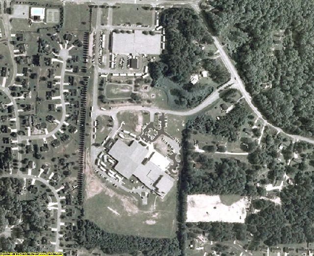 Newton County, GA aerial photography detail