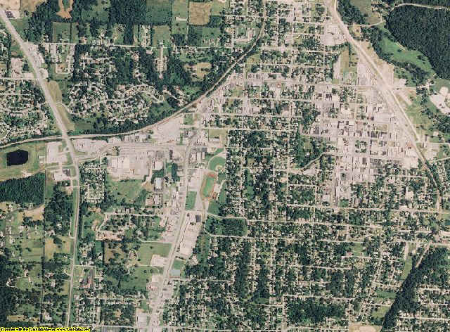 Newton County, Missouri aerial photography