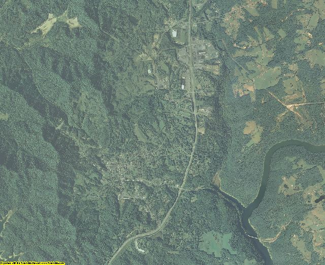 Nicholas County, West Virginia aerial photography