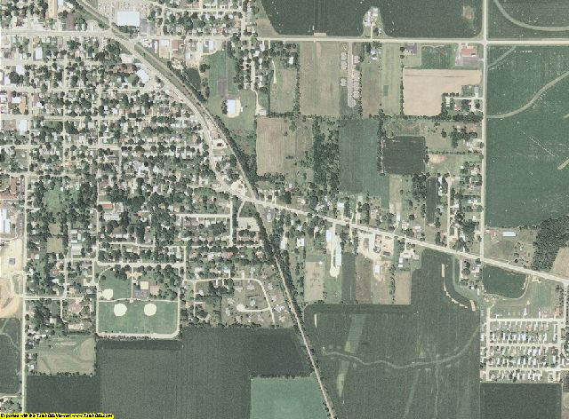Ogle County, Illinois aerial photography