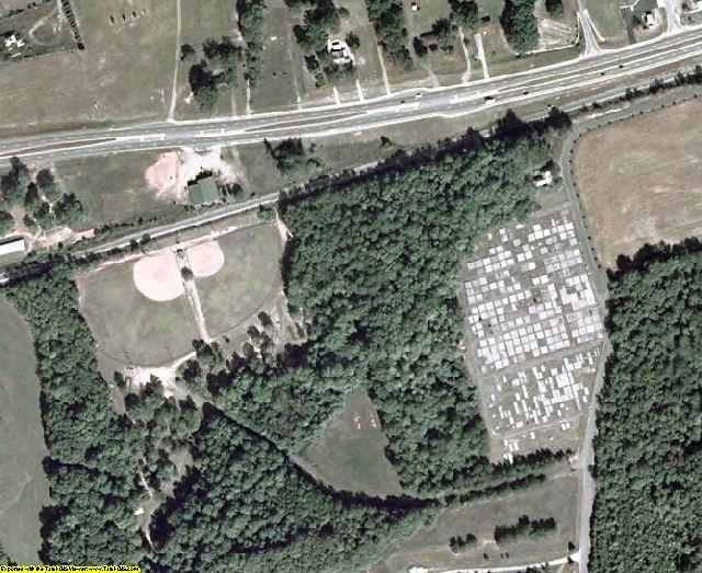 Oglethorpe County, GA aerial photography detail