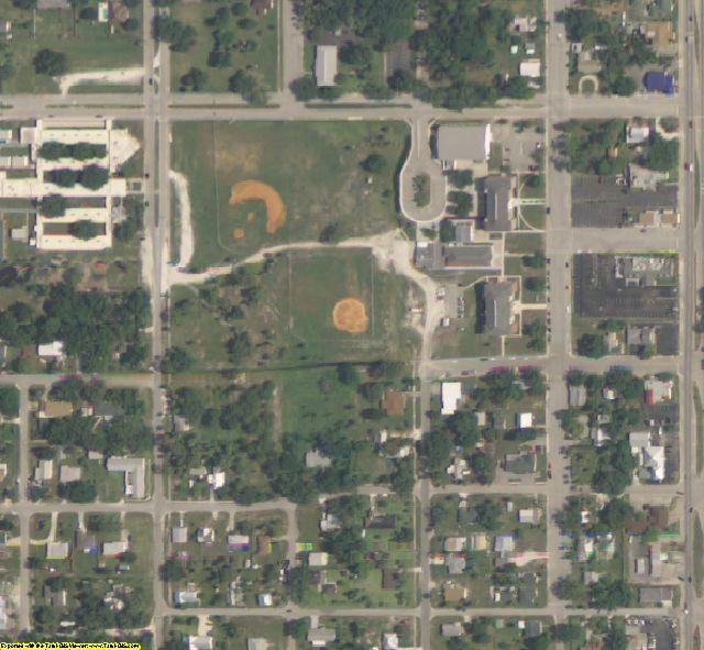 Okeechobee County, FL aerial photography detail