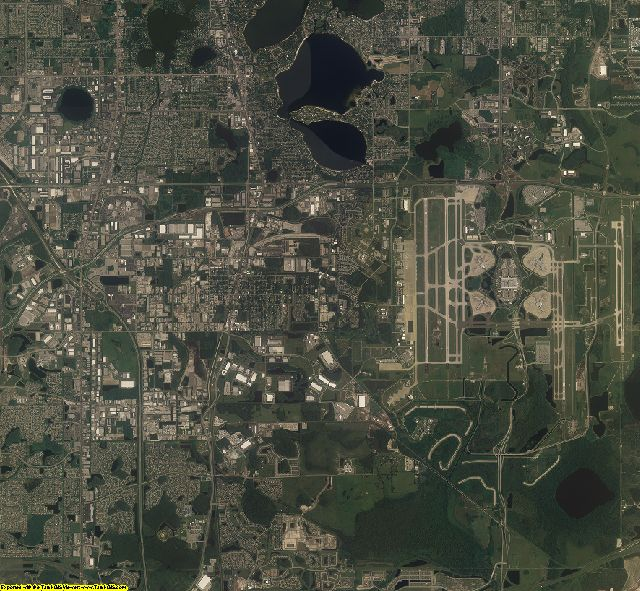 Orange County, Florida aerial photography