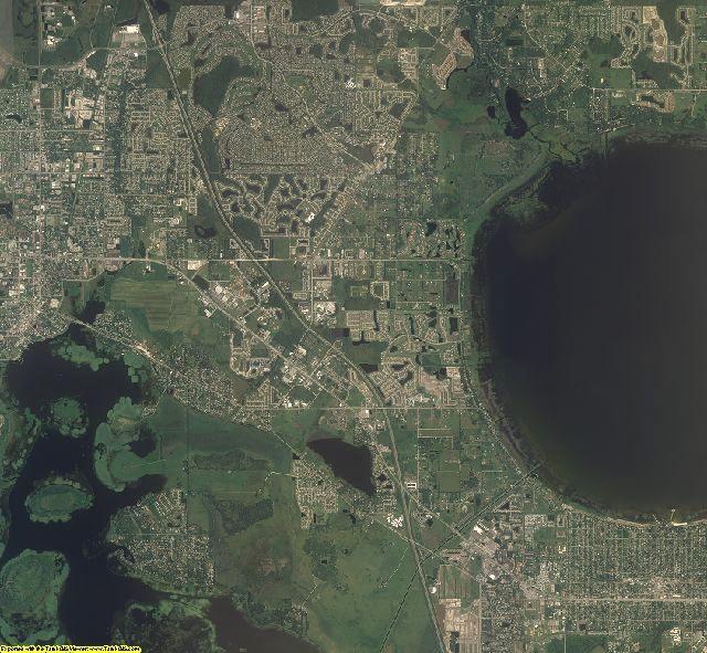 Osceola County, Florida aerial photography