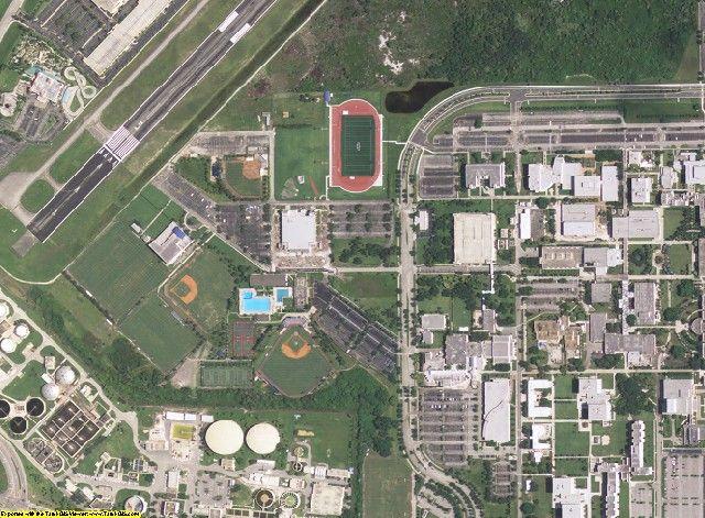 Palm Beach County, FL aerial photography detail