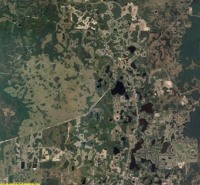 Pasco County, Florida aerial photography