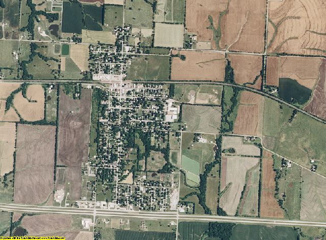 Pettis County, Missouri aerial photography