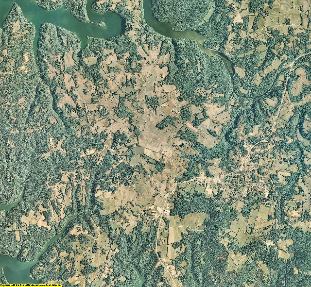 Pickett County, Tennessee aerial photography