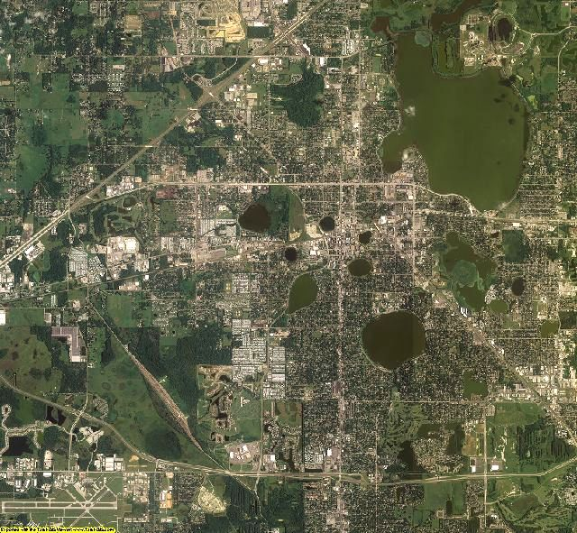 Polk County, Florida aerial photography