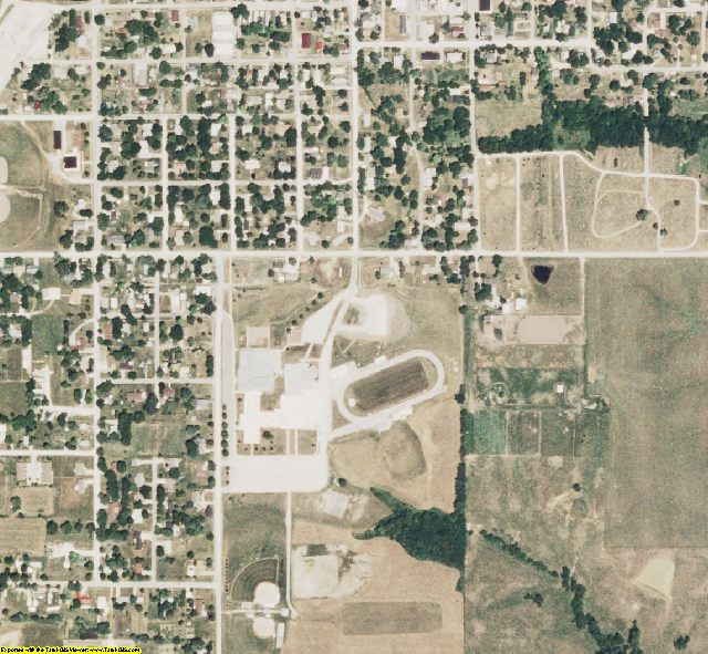 Putnam County, MO aerial photography detail