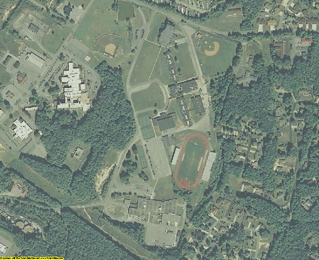 Raleigh County, WV aerial photography detail