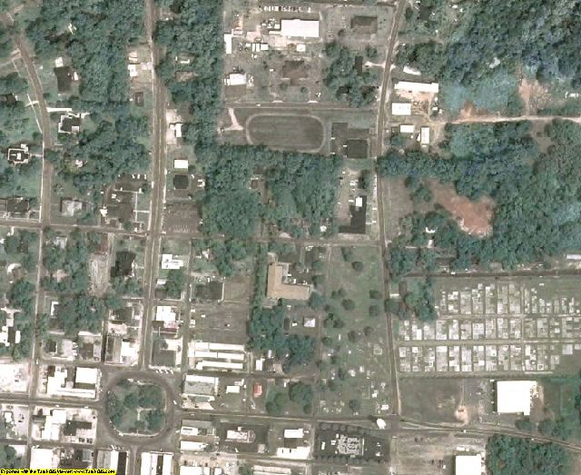 Randolph County, GA aerial photography detail