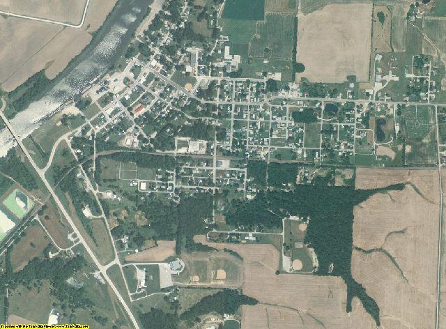 Randolph County, Illinois aerial photography