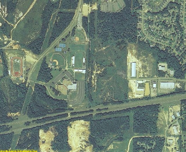Rankin County, MS aerial photography detail