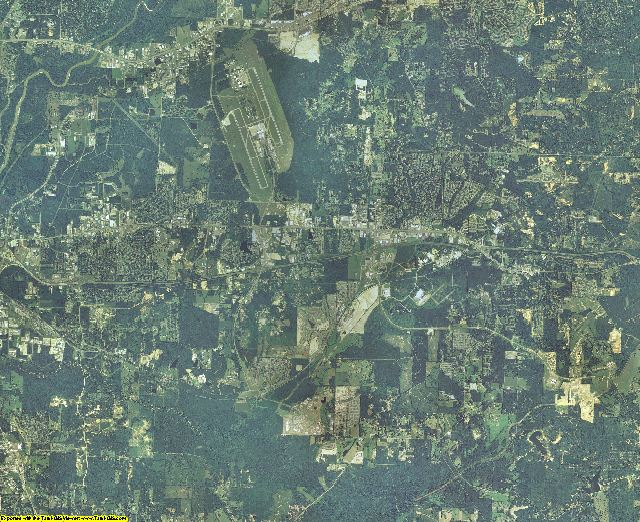 Rankin County, Mississippi aerial photography