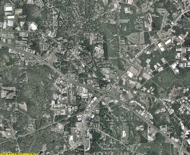Rockdale County, Georgia aerial photography
