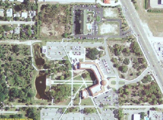 Sarasota County, FL aerial photography detail