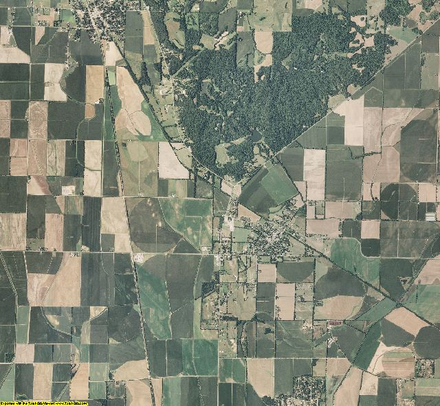 Scott County, Missouri aerial photography