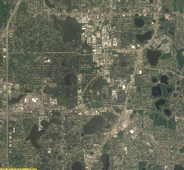 Seminole County, Florida aerial photography