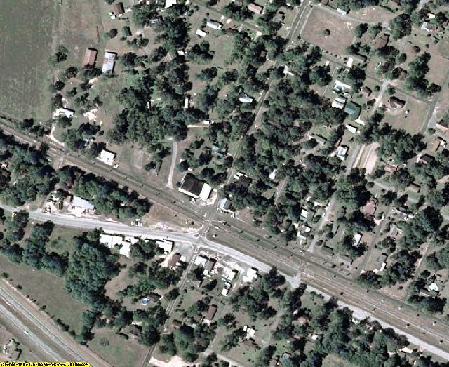 Seminole County, GA aerial photography detail