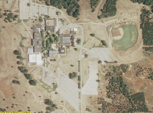 St. Francois County, MO aerial photography detail
