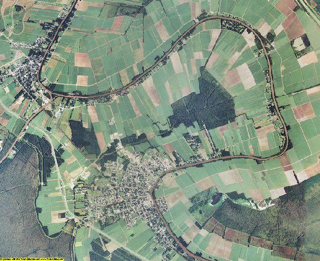 St. Mary County, Louisiana aerial photography