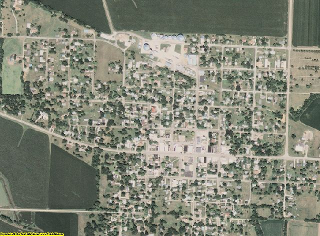 Stark County, Illinois aerial photography
